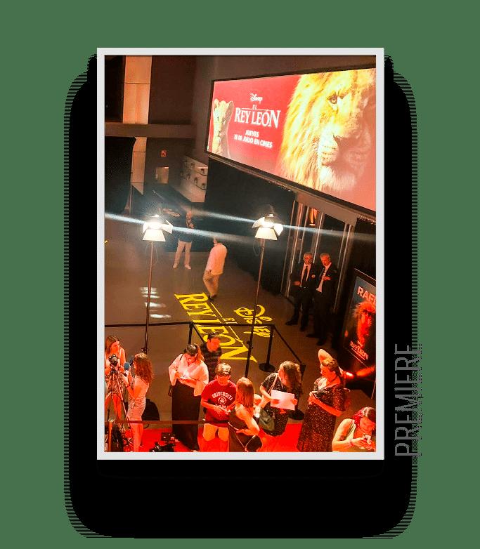 TeatroGoya alquiler de espacio para premieres de películas