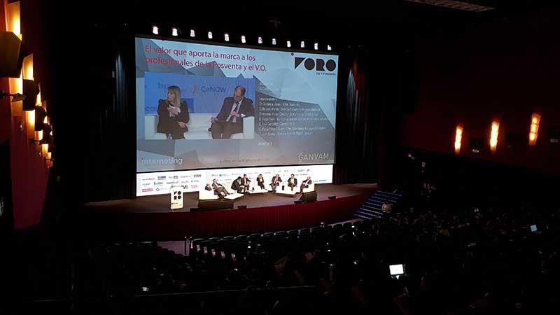 Teatro Goya Espacio para eventos madrid FORO V.O. Y POSVENTA DE INTERNETING MCO-17