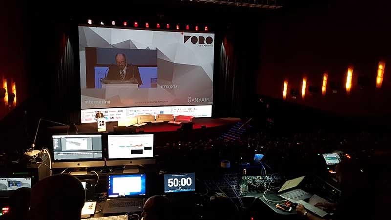 Teatro Goya Espacio para eventos madrid FORO V.O. Y POSVENTA DE INTERNETING MCO-18