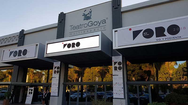 Teatro Goya Espacio para eventos madrid FORO V.O. Y POSVENTA DE INTERNETING MCO-8