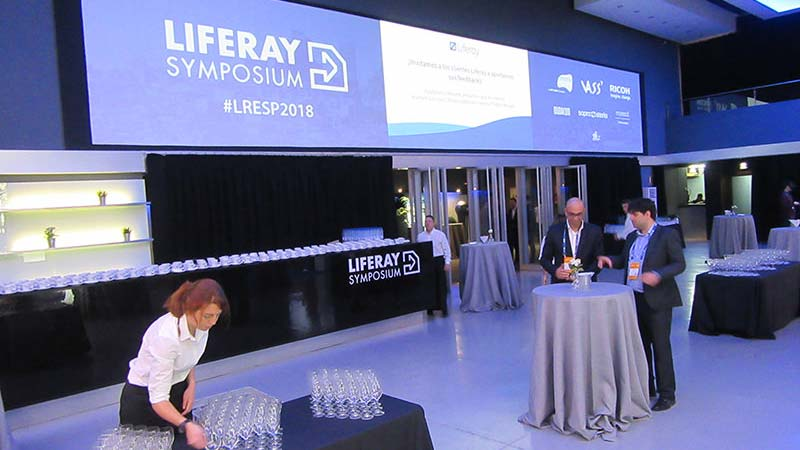 Teatro Goya Espacio para eventos madrid LIFERAY SYMPOSIUM SPAIN 2018 -2