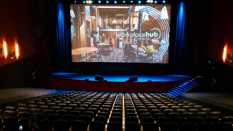 Teatro Goya Espacio para eventos madrid Road show Konica Minolta -10