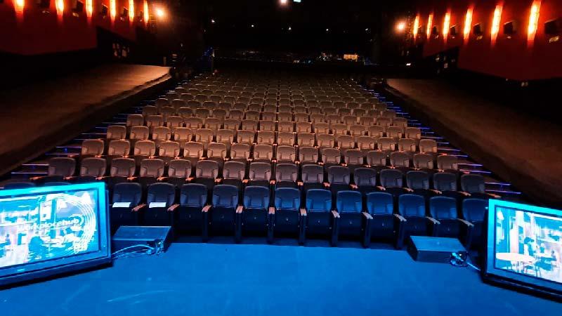 Teatro Goya Espacio para eventos madrid Road show Konica Minolta -11
