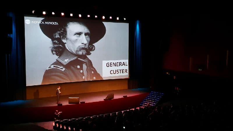 Teatro Goya Espacio para eventos madrid Road show Konica Minolta -8