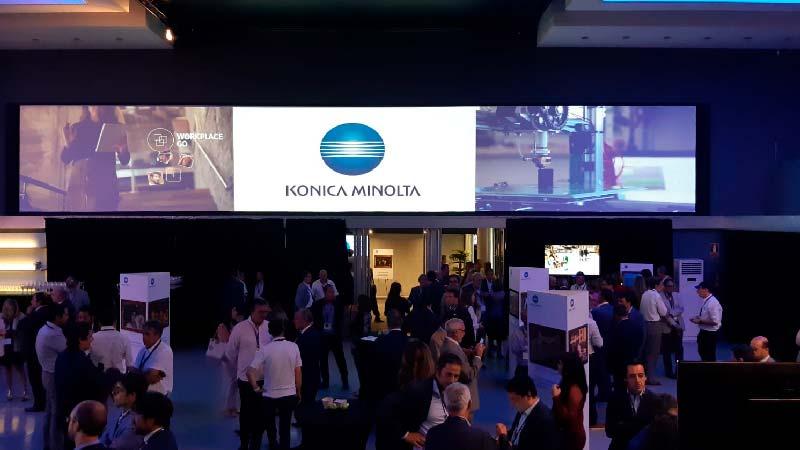Teatro Goya Espacio para eventos madrid Road show Konica Minolta_
