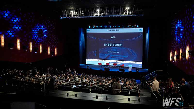 Teatro Goya Espacio para eventos madrid WORLD FOOTBALL SUMMIT 2018-20