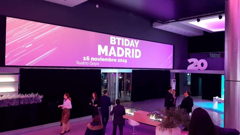 Teatro Goya Espacio para eventos madrid BTI Day 2019-11